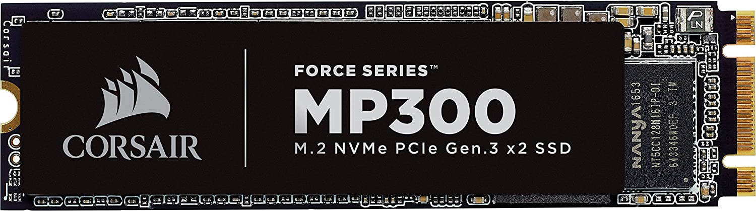 corsair force series mp300 m.2 ssd image