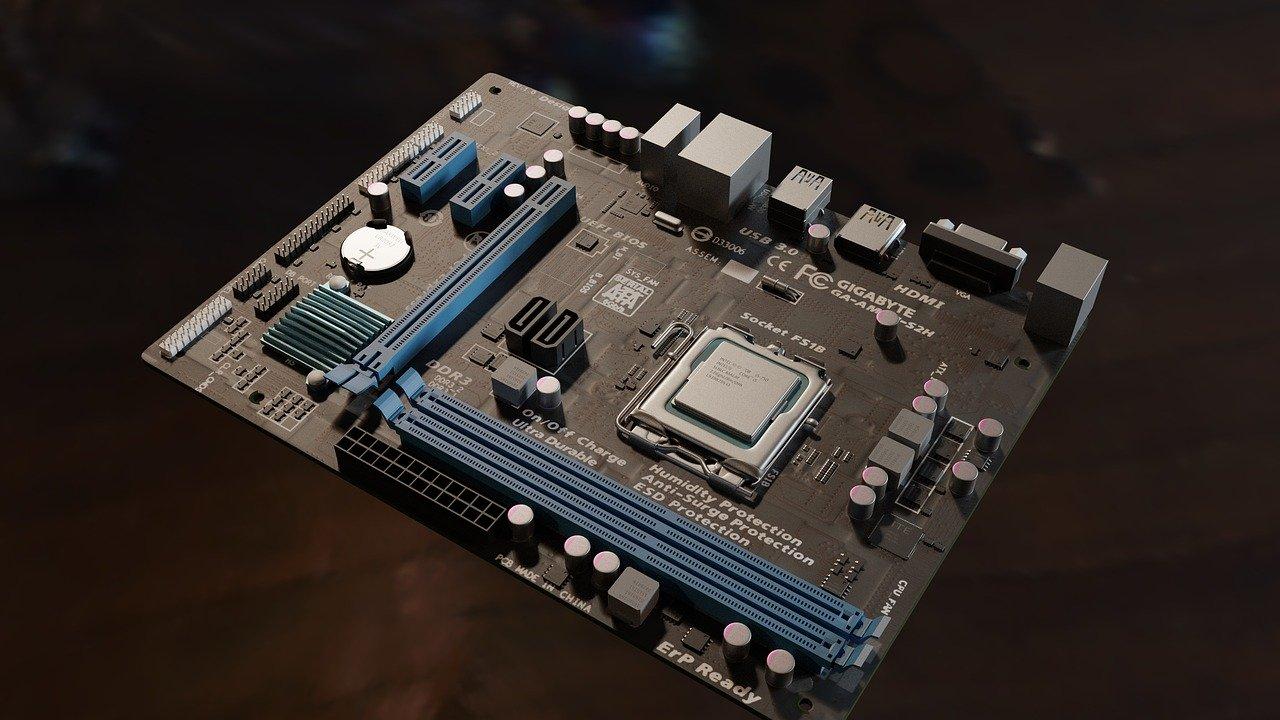 gigabyte motherboard image