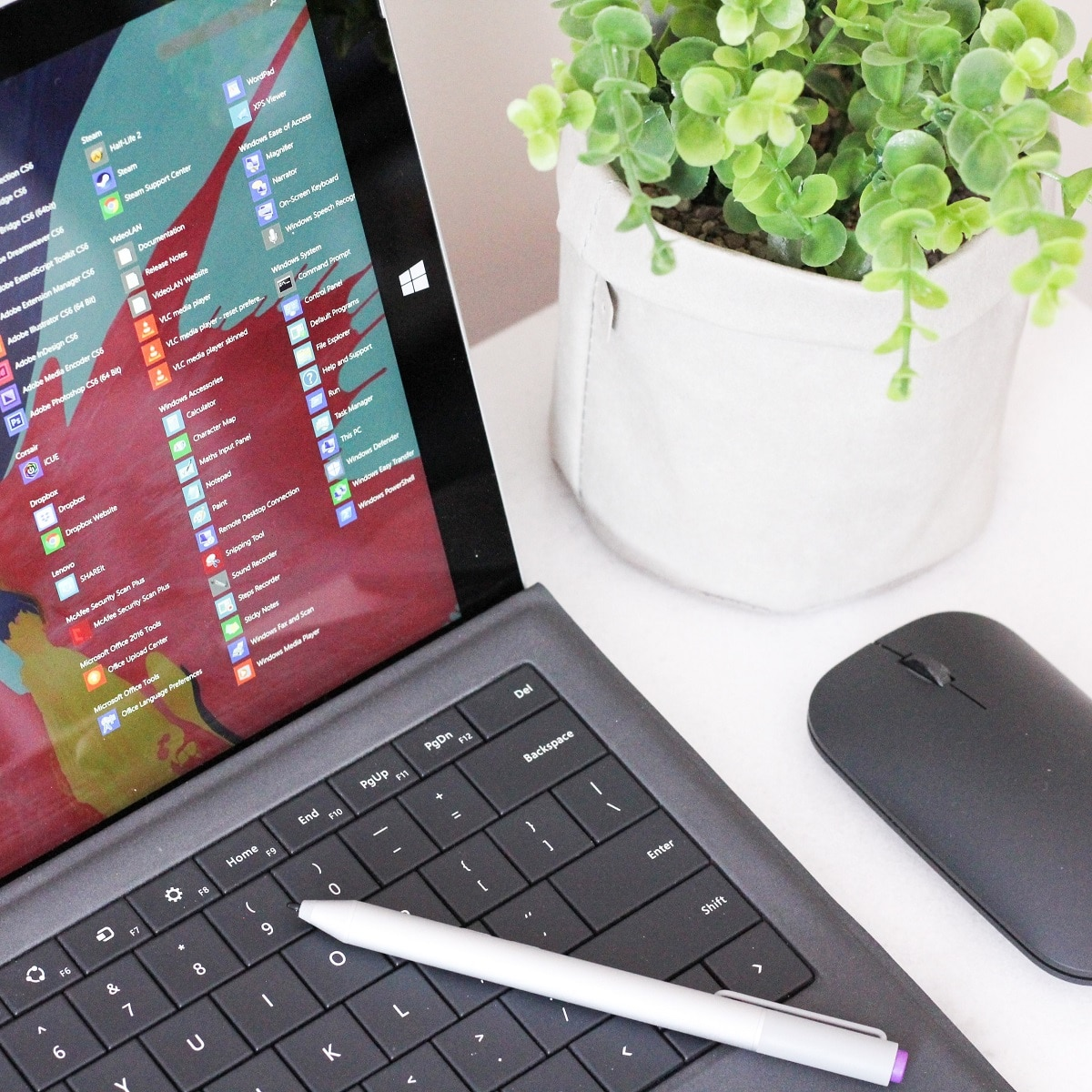 windows 10 start menu featured image